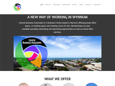 Central Business Associates Website Development